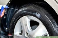 واکس لاستیک خودرو پایه آب